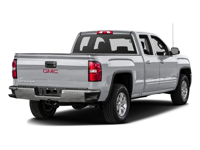 Quicksilver Metallic 2016 GMC Sierra 1500 Pictures Sierra 1500 Extended Cab SLE 4WD photos rear view