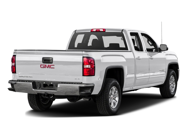Summit White 2016 GMC Sierra 1500 Pictures Sierra 1500 Extended Cab SLE 4WD photos rear view