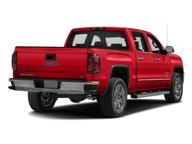 Cardinal Red 2016 GMC Sierra 1500 Pictures Sierra 1500 Crew Cab SLT 2WD photos rear view