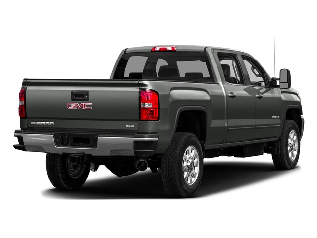 Light Steel Gray Metallic 2016 GMC Sierra 3500HD Pictures Sierra 3500HD Crew Cab 2WD photos rear view