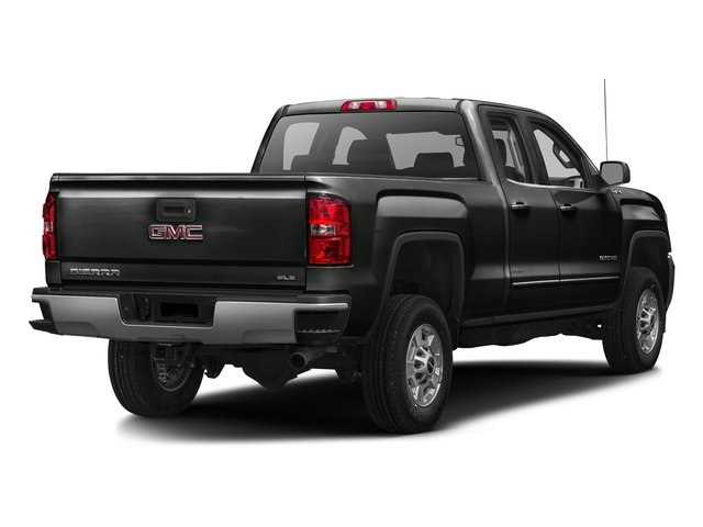 Light Steel Gray Metallic 2016 GMC Sierra 2500HD Pictures Sierra 2500HD Extended Cab SLE 4WD photos rear view