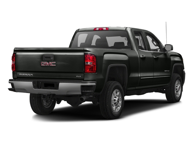 Light Steel Gray Metallic 2016 GMC Sierra 2500HD Pictures Sierra 2500HD Extended Cab SLT 2WD photos rear view
