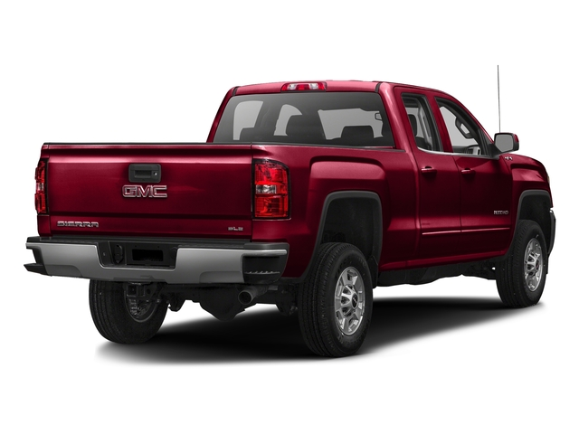 Crimson Red Tintcoat 2016 GMC Sierra 2500HD Pictures Sierra 2500HD Extended Cab SLE 4WD photos rear view