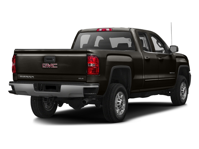 Mahogany Metallic 2016 GMC Sierra 2500HD Pictures Sierra 2500HD Extended Cab SLE 4WD photos rear view