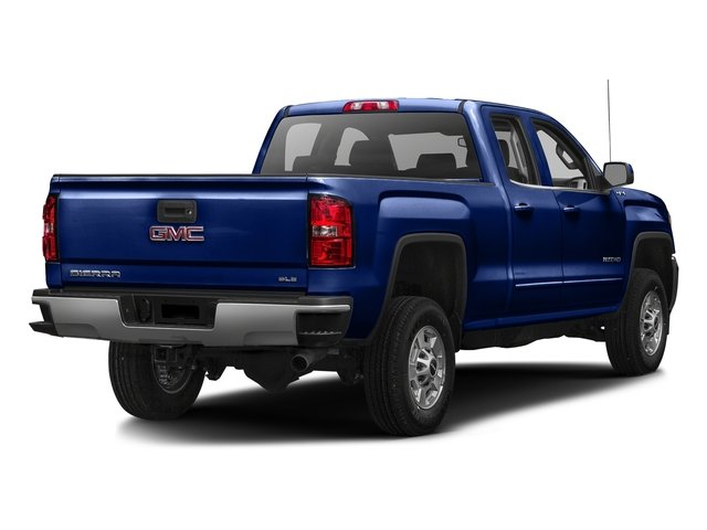 Stone Blue Metallic 2016 GMC Sierra 2500HD Pictures Sierra 2500HD Extended Cab SLE 4WD photos rear view