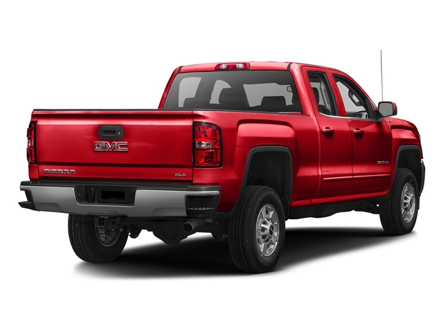 Cardinal Red 2016 GMC Sierra 2500HD Pictures Sierra 2500HD Extended Cab SLT 2WD photos rear view
