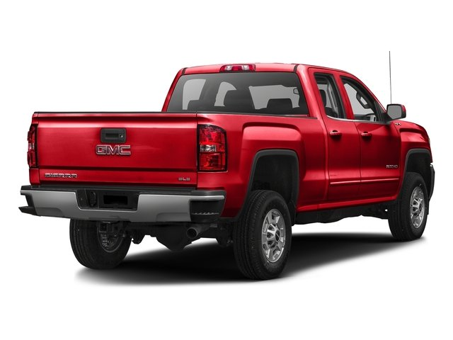 Cardinal Red 2016 GMC Sierra 2500HD Pictures Sierra 2500HD Extended Cab SLE 4WD photos rear view