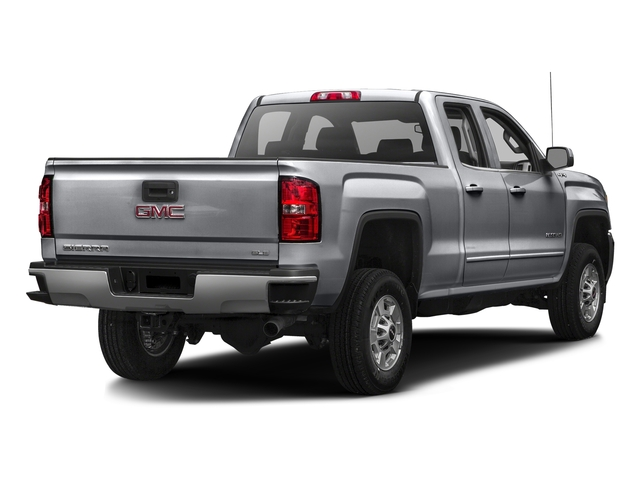 Quicksilver Metallic 2016 GMC Sierra 2500HD Pictures Sierra 2500HD Extended Cab SLT 2WD photos rear view