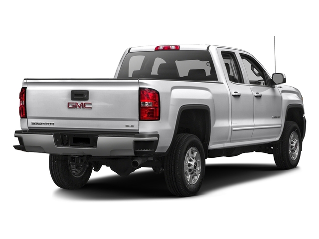 Summit White 2016 GMC Sierra 2500HD Pictures Sierra 2500HD Extended Cab SLE 4WD photos rear view