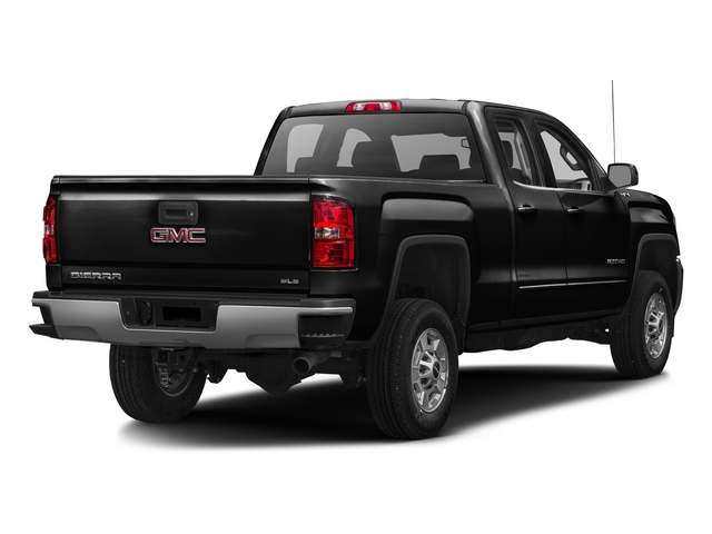 Onyx Black 2016 GMC Sierra 2500HD Pictures Sierra 2500HD Extended Cab SLE 4WD photos rear view