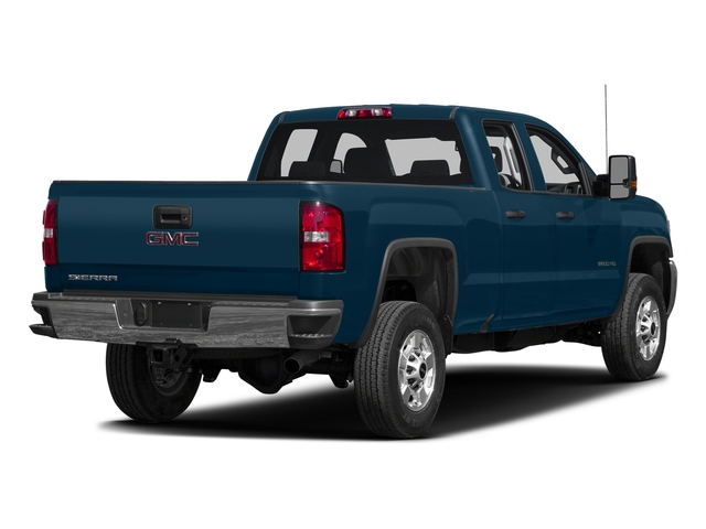 Stone Blue Metallic 2016 GMC Sierra 2500HD Pictures Sierra 2500HD Extended Cab 4WD photos rear view