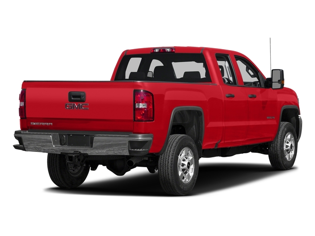 Cardinal Red 2016 GMC Sierra 2500HD Pictures Sierra 2500HD Extended Cab 4WD photos rear view
