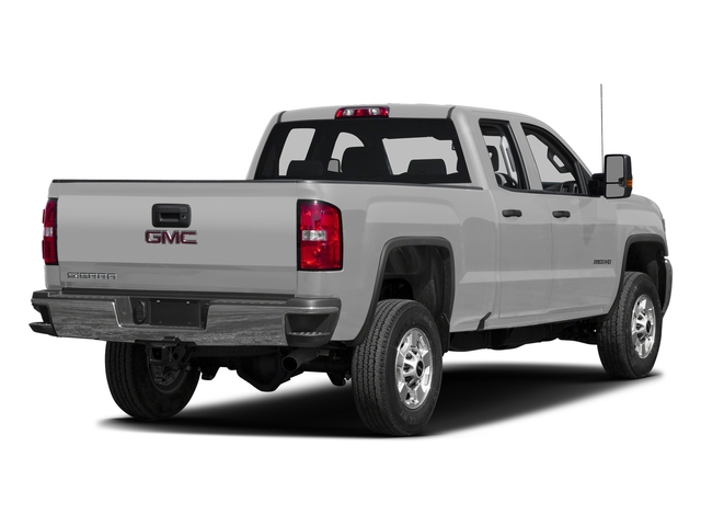 Quicksilver Metallic 2016 GMC Sierra 2500HD Pictures Sierra 2500HD Extended Cab 4WD photos rear view