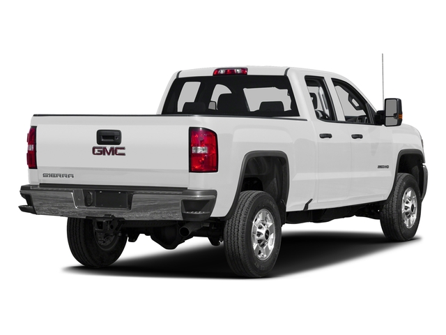 Summit White 2016 GMC Sierra 2500HD Pictures Sierra 2500HD Extended Cab 4WD photos rear view