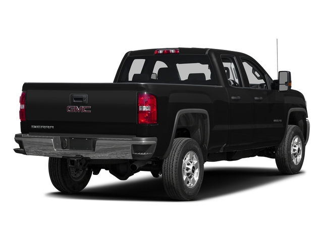 Onyx Black 2016 GMC Sierra 2500HD Pictures Sierra 2500HD Extended Cab 4WD photos rear view