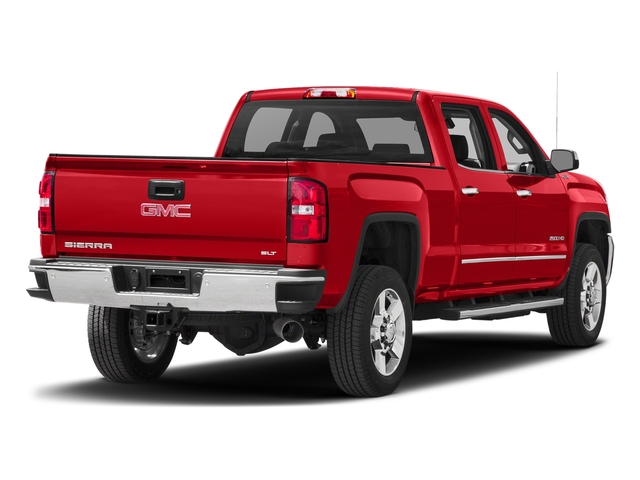 Cardinal Red 2016 GMC Sierra 2500HD Pictures Sierra 2500HD Crew Cab SLT 2WD photos rear view