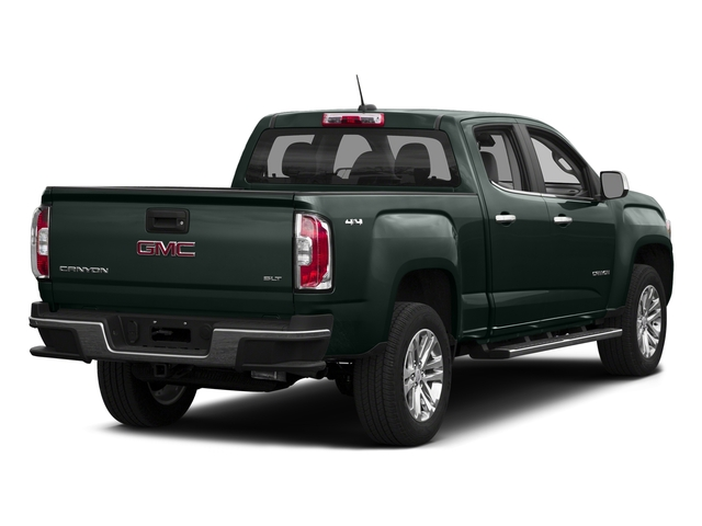Emerald Green Metallic 2016 GMC Canyon Pictures Canyon Crew Cab SLT 4WD photos rear view
