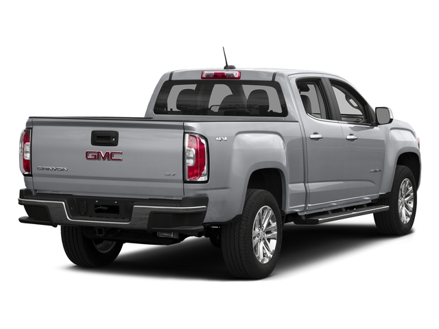 Quicksilver Metallic 2016 GMC Canyon Pictures Canyon Crew Cab SLT 4WD photos rear view