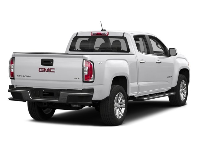 Summit White 2016 GMC Canyon Pictures Canyon Crew Cab SLT 4WD photos rear view