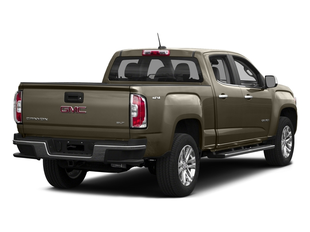 Bronze Alloy Metallic 2016 GMC Canyon Pictures Canyon Crew Cab SLT 4WD photos rear view