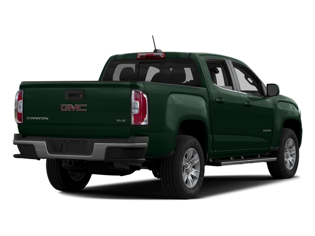 Emerald Green Metallic 2016 GMC Canyon Pictures Canyon Crew Cab SLE 4WD T-Diesel photos rear view