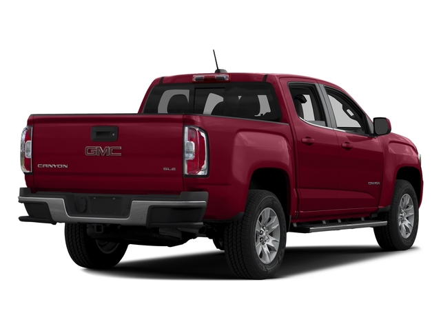 Copper Red Metallic 2016 GMC Canyon Pictures Canyon Crew Cab SLE 2WD photos rear view