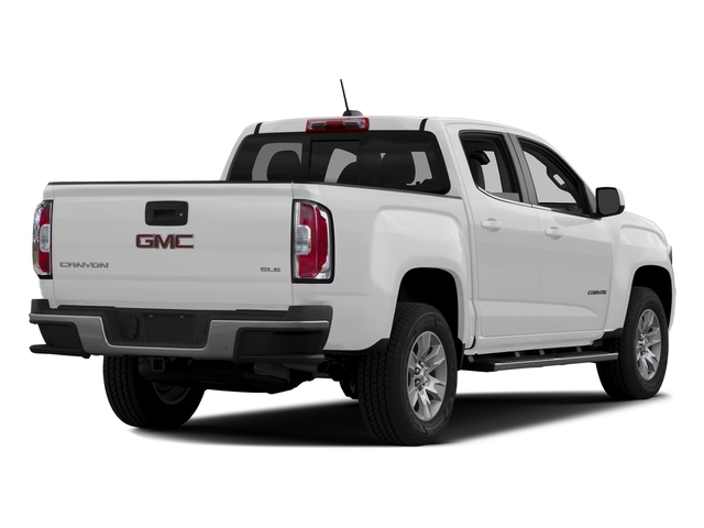 Summit White 2016 GMC Canyon Pictures Canyon Crew Cab SLE 2WD photos rear view
