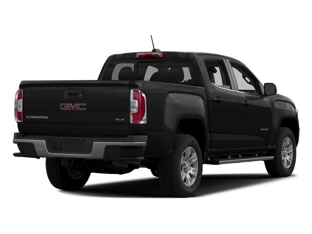 Onyx Black 2016 GMC Canyon Pictures Canyon Crew Cab SLE 2WD photos rear view