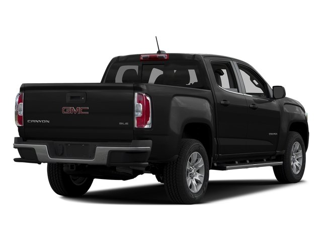 Onyx Black 2016 GMC Canyon Pictures Canyon Crew Cab SLE 4WD T-Diesel photos rear view