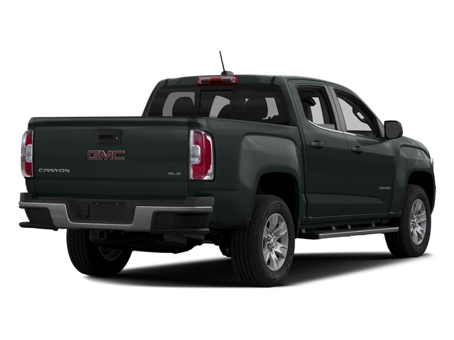 Cyber Gray Metallic 2016 GMC Canyon Pictures Canyon Crew Cab SLE 4WD T-Diesel photos rear view
