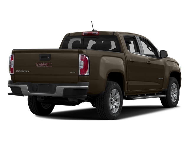 Bronze Alloy Metallic 2016 GMC Canyon Pictures Canyon Crew Cab SLE 4WD T-Diesel photos rear view