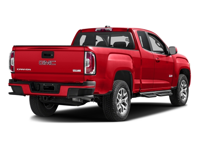 Cardinal Red 2016 GMC Canyon Pictures Canyon Extended Cab SLE 4WD photos rear view