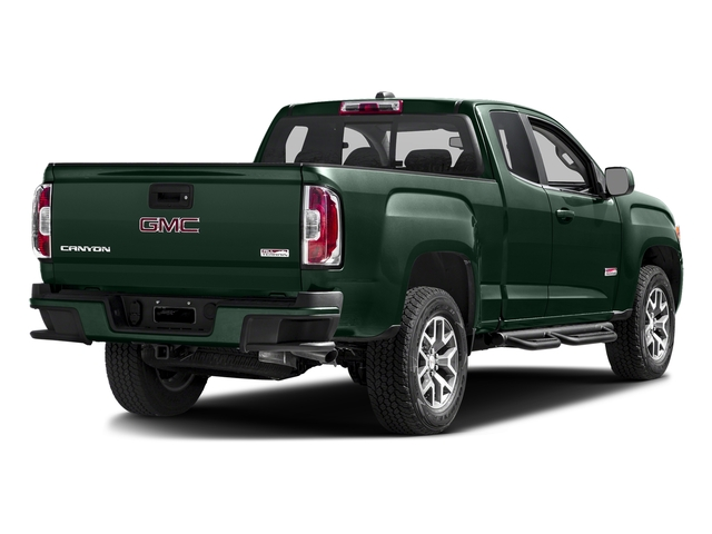 Emerald Green Metallic 2016 GMC Canyon Pictures Canyon Extended Cab SLE 4WD photos rear view
