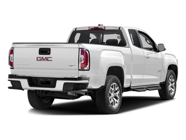 Summit White 2016 GMC Canyon Pictures Canyon Extended Cab SLE 4WD photos rear view