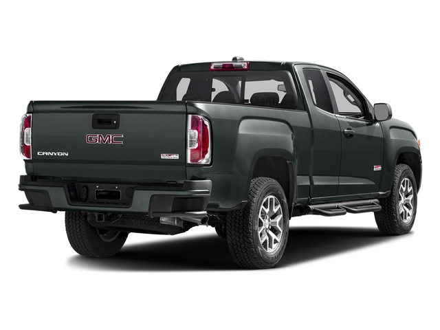 Cyber Gray Metallic 2016 GMC Canyon Pictures Canyon Extended Cab SLE 4WD photos rear view