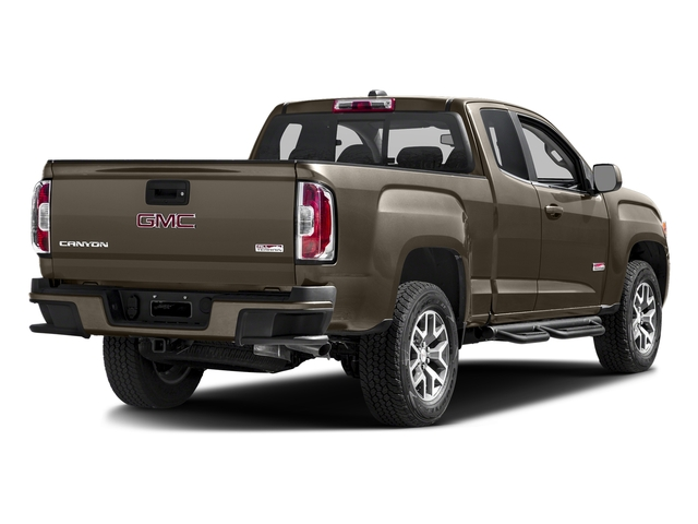Bronze Alloy Metallic 2016 GMC Canyon Pictures Canyon Extended Cab SLE 4WD photos rear view