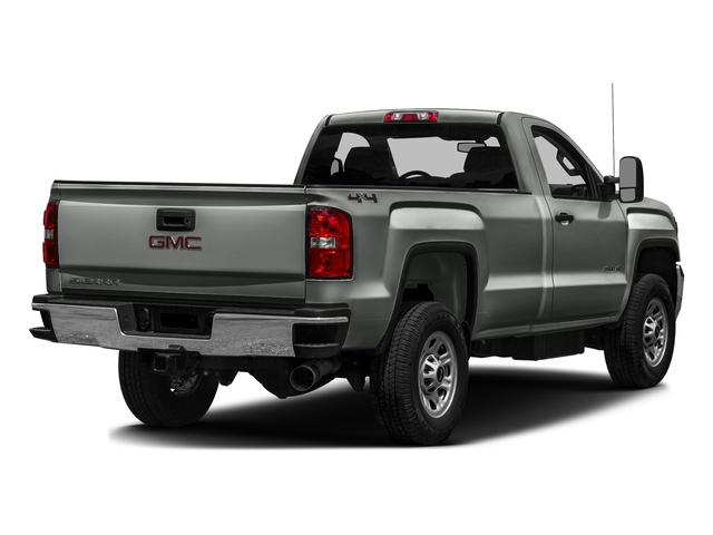 Light Steel Gray Metallic 2016 GMC Sierra 3500HD Pictures Sierra 3500HD Regular Cab 4WD photos rear view