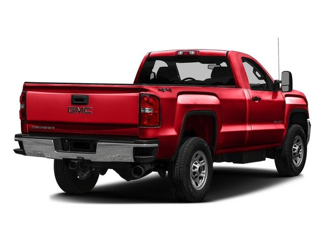 Cardinal Red 2016 GMC Sierra 3500HD Pictures Sierra 3500HD Regular Cab 4WD photos rear view