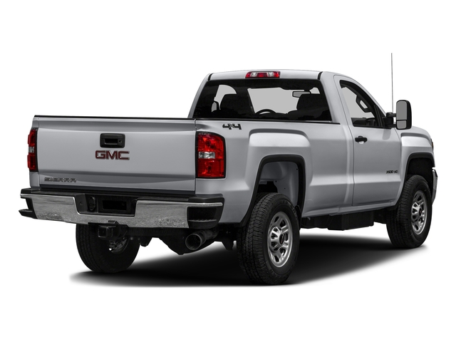 Quicksilver Metallic 2016 GMC Sierra 3500HD Pictures Sierra 3500HD Regular Cab 4WD photos rear view