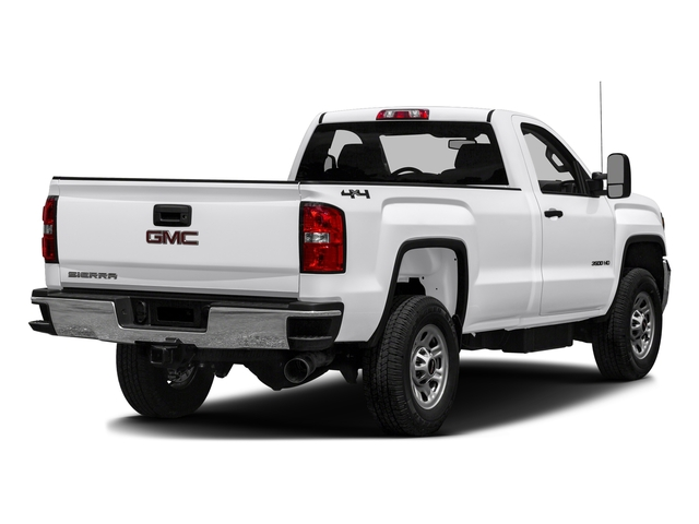 Summit White 2016 GMC Sierra 3500HD Pictures Sierra 3500HD Regular Cab 4WD photos rear view