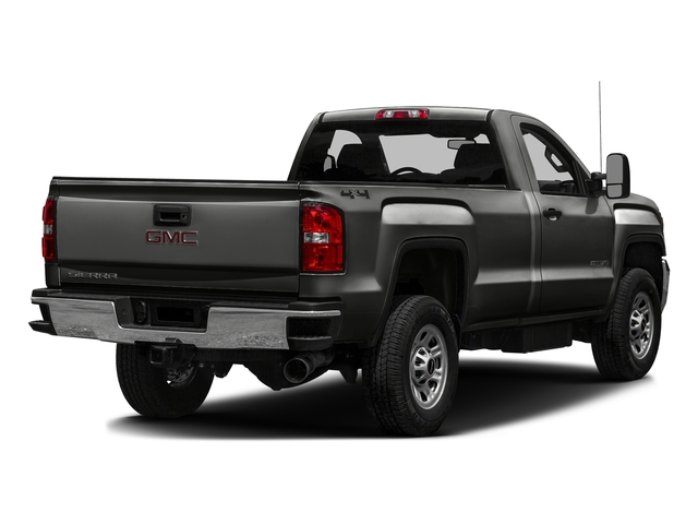 Iridium Metallic 2016 GMC Sierra 3500HD Pictures Sierra 3500HD Regular Cab 4WD photos rear view