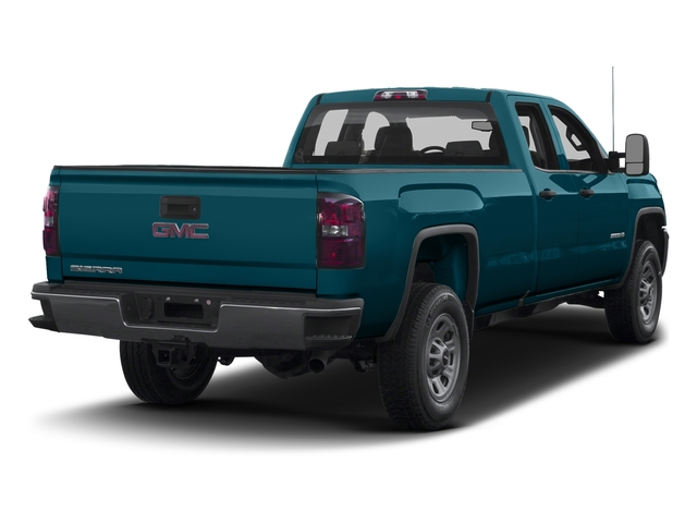 Stone Blue Metallic 2016 GMC Sierra 3500HD Pictures Sierra 3500HD Extended Cab 2WD photos rear view