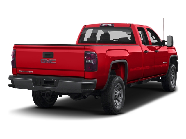 Cardinal Red 2016 GMC Sierra 3500HD Pictures Sierra 3500HD Extended Cab 2WD photos rear view