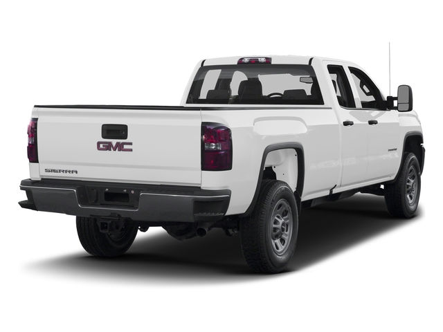 Summit White 2016 GMC Sierra 3500HD Pictures Sierra 3500HD Extended Cab 2WD photos rear view