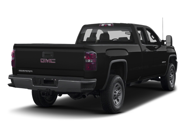 Onyx Black 2016 GMC Sierra 3500HD Pictures Sierra 3500HD Extended Cab 2WD photos rear view