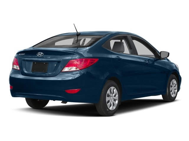 Pacific Blue Pearl 2016 Hyundai Accent Pictures Accent Sedan 4D SE I4 photos rear view