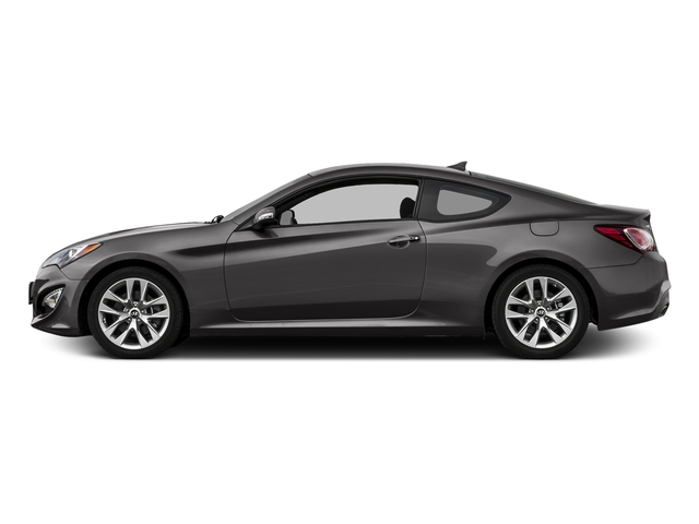 Empire St Gray Metallic 2016 Hyundai Genesis Coupe Pictures Genesis Coupe 2D Ultimate V6 photos rear view