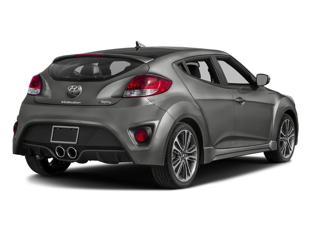 Ironman Silver 2016 Hyundai Veloster Pictures Veloster Coupe 3D I4 Turbo photos rear view