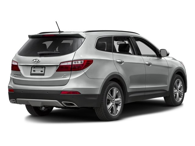 Circuit Silver 2016 Hyundai Santa Fe Pictures Santa Fe Utility 4D Limited AWD photos rear view