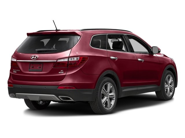 Regal Red Pearl 2016 Hyundai Santa Fe Pictures Santa Fe Utility 4D Limited AWD photos rear view